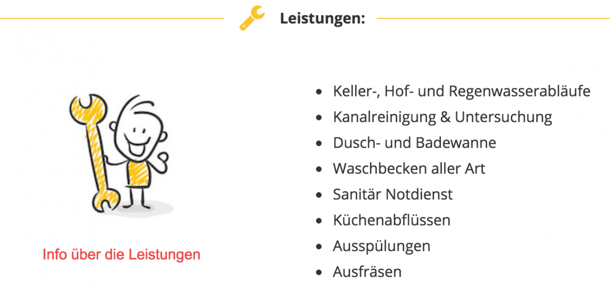 Sanitär Stuttgart Rohrreinigung Klempner Notdienst